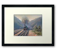 Coal country Framed Print