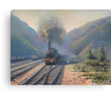 Coal country Canvas Print