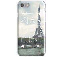 With Love, from Paris iPhone Case/Skin