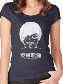 Tokyo Ghoul - Kaneki Women's Fitted Scoop T-Shirt