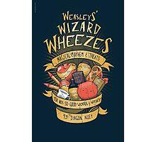 Wheezes Photographic Print