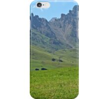 Green mountains (Italy)2 iPhone Case/Skin