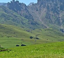 Green mountains (Italy)2 by alicara