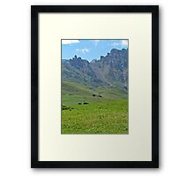 Green mountains (Italy)2 Framed Print