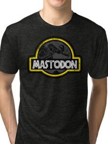 Jurassic Power Black Tri-blend T-Shirt