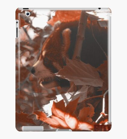 Silly Red Panda iPad Case/Skin