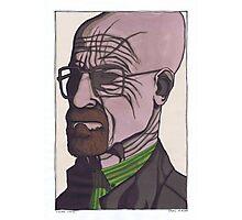 Walter White, Breaking Bad Photographic Print
