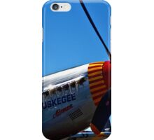 Tuskegee Airmen P51 Mustang Fighter Plane iPhone Case/Skin