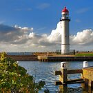 Lighthouse of Hellevoetsluis by Adri  Padmos