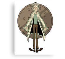 Doofus Rick (Grey Coin) Canvas Print