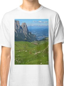 View from the top of a mountain Classic T-Shirt