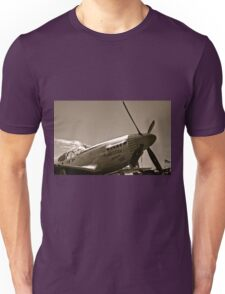 Tuskegee Airmen P51 Mustang Fighter Plane Unisex T-Shirt
