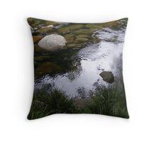 Still Water - Mossman Gorge Throw Pillow