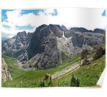 View from the top of a mountain 2 Poster