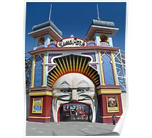 Luna Park - St Kilda Poster