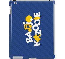 Bear & Bird - Blue iPad Case/Skin
