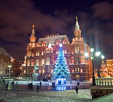 Moscow is ready for the New Year by Asanova