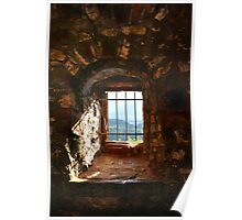 The Window at Burg Rötteln  Poster