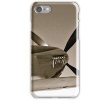 Tuskegee Airmen P51 Mustang Fighter Plane iPhone Case/Skin