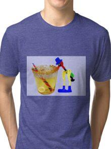 ☀ ツ DO U REMEMBER THE DRINKING BIRD HE'S HAVING A SIP ☀ ツ Tri-blend T-Shirt