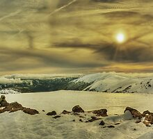 Winter, Bogong High Plains by Kevin McGennan