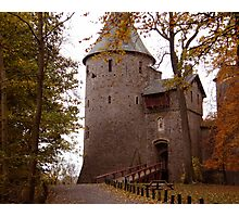 Castle Coch north of Cardiff  South Wales UK Photographic Print