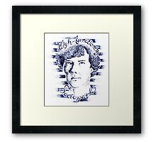 High-Functioning Sociopath Framed Print