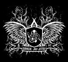 Gracie Jiu Jitsu BJJ (White) by DCornel