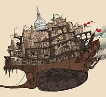 Mortal Engines: London by Kirsty Mordaunt