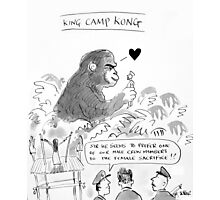 king 'camp' kong Photographic Print
