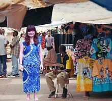 My Granddaughter Michaela in GAMBIA by AnnDixon