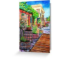 Old Town Temecula Greeting Card