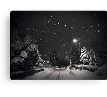 silent night Canvas Print