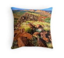 East MacDonnell Ranges Throw Pillow