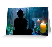 Buddha's Garden Greeting Card