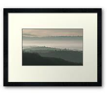 Piedmontese Landscape Framed Print