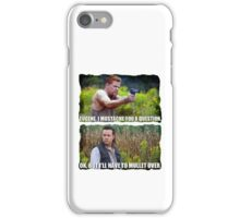 Mullet for the Win iPhone Case/Skin