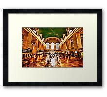 NYC Grand Central Station Framed Print