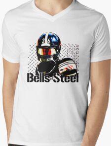 Bells of Steel Mens V-Neck T-Shirt