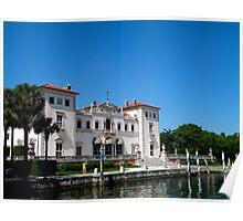 Museo y jardines de Vizcaya..........Miami. Poster