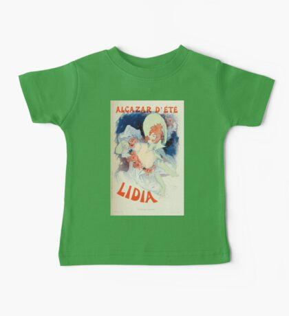 Les Affiches Illustrees 1886 1895 Ouvrage Orne de 64 Ernest Maindron Jules Cheret 1896 0121 Lidia Baby Tee