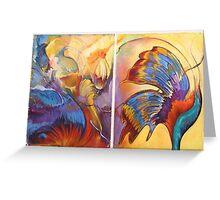 Moth Transfiguration Greeting Card