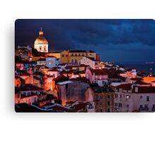 Lights of Lisboa 2 Canvas Print