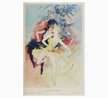 Les Affiches Illustrees 1886 1895 Ouvrage Orne de 64 Ernest Maindron Jules Cheret 1896 0433 Dancing Baby Tee