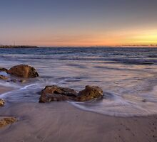 Awash at Bathers Beach by Artimagery