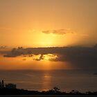 Sunrise over Umhlanga Beach. Durban. South Africa by Sarah Howes