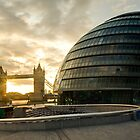London Mayor House and the Tower Bridge by ShanneOng