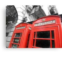 Red London Canvas Print