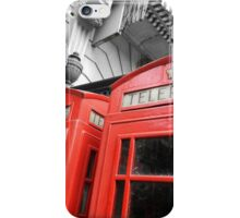 Red London iPhone Case/Skin