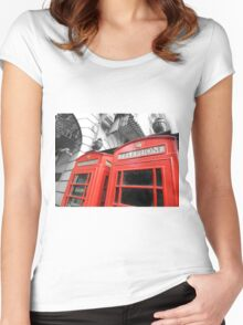 Red London Women's Fitted Scoop T-Shirt